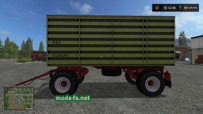 Farming Simulator 2017: мод прицепа для трактора