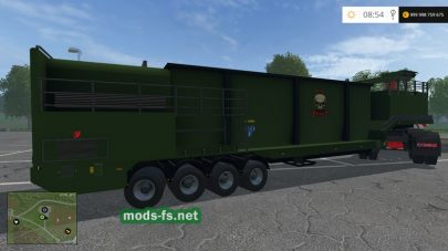 IVECO Stralis Wood Chippers для Farming Simulator 2015