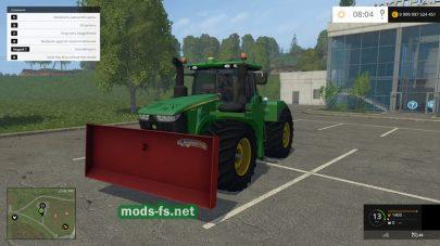Трактор JOHN DEERE 9620R для игры