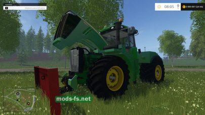 Пак трактора JOHN DEERE 9620R для FS 2015