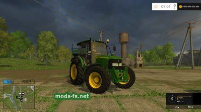 Трактор JOHN DEERE 5080M Washable