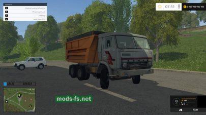Мод КамАЗ 55111