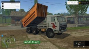 КамАЗ 55111 для Farming Simulator 2015