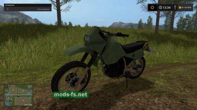 Мод Kawasaki KR650