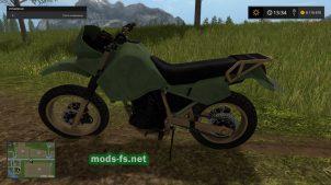 Мотоцикл Kawasaki для FS 2017