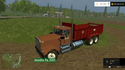 Kenworth Manuer mods