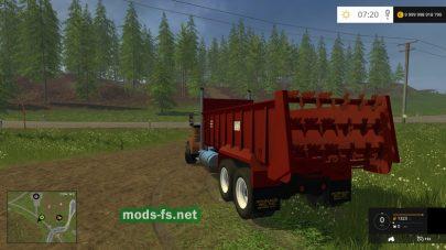 Kenworth Manuer для Farming Simulator 2015