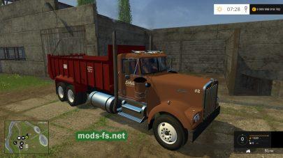 Мод грузовика Kenworth Manuer