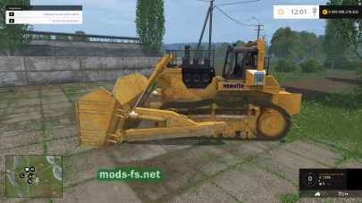 Бульдозер для Farming Simulator 2015