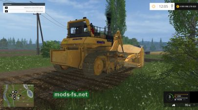 KOMATSU 575A для Farming Simulator 2015