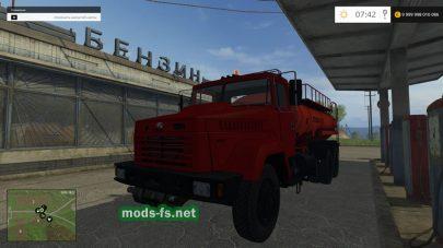Мод бензовоза Краз-65053