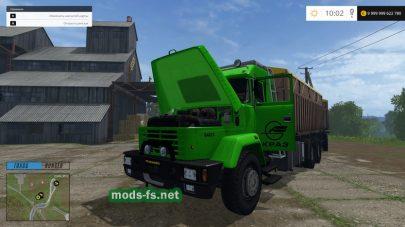 Мод грузовика КрАЗ 64431