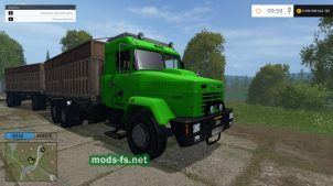 kraz-64431 mods