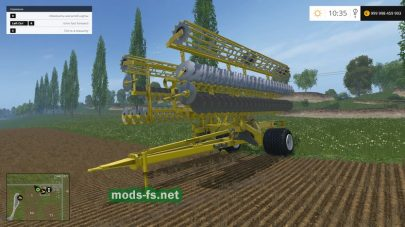 Мод БДМ 15 для Farming Simulator 2015