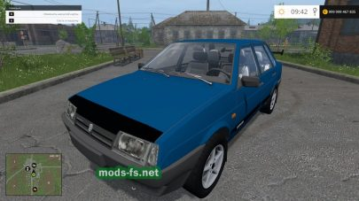 Скриншот мода Лада 21099
