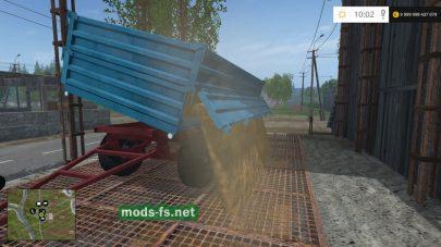 Прицеп LOZNICA для перевозки зерна в Farming Simulator 2015