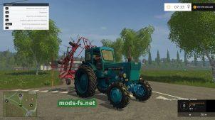 Мод трактора ЛТЗ Т40АМ