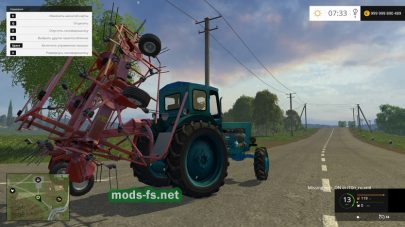ЛТЗ Т40АМ для Farming Simulator 2015
