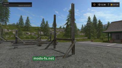 Держатель бревен в Farming Simulator 2017