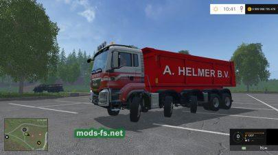 Грузовик MAN A HELMER B.V. для Farming Simulator 2015