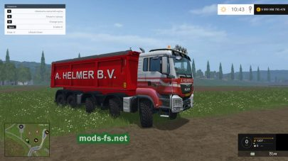 MAN A HELMER B.V. mods