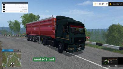 Мод грузовика МАЗ-5440