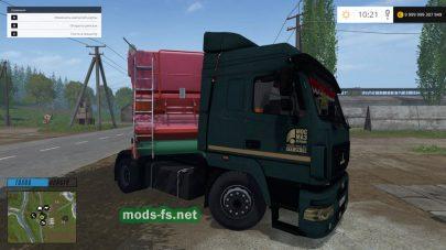 maz-5440 mods