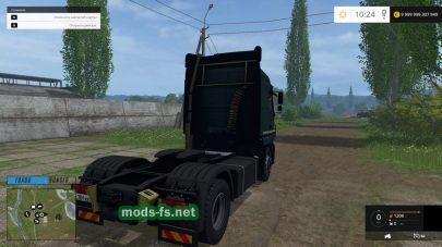 Мод «maz-5440» для FS 2015