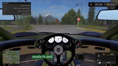 Мод автомобиля Mclaren F1