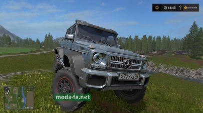 Мод Mercedes Benz G 65 AMG 6X6 для FS 2017