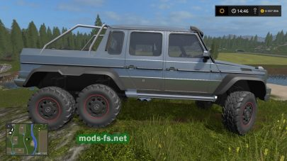 Mercedes Benz G 65 AMG для Farming Simulator 2017