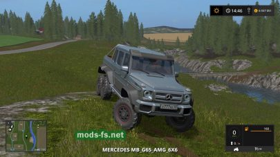 Автомобиль Mercedes Benz G 65 для Farming Simulator 2017