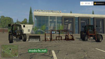 Трактора МТЗ-1025 с погрузчиками