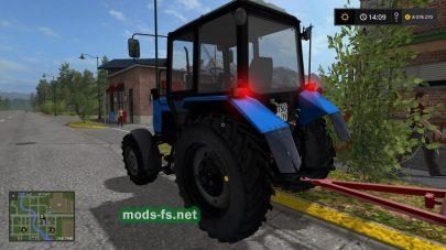 mtz-1021 mods FS 2017