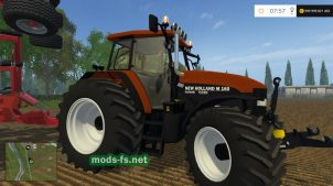 Мод трактора NEW HOLLAND M160 TURBO