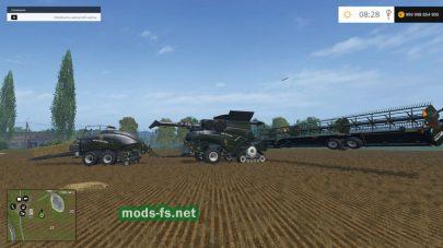Пак комбайнов и тюковщиков для Farming Simulator 2015