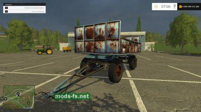 Potkocsi HW6011 для Farming Simulator 2015