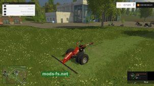Мотоблок с косой для Farming Simulator 2015