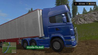 Scania R730 Topline mods