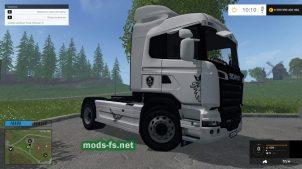Тягач Scania R730 для Farming Simulator 2015