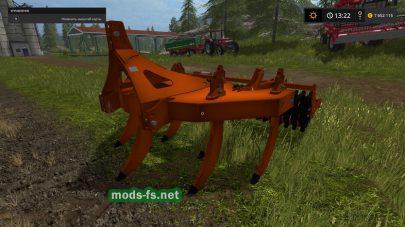 Мод Seven Straight Arms Subsoiler для Farming Simulator 2017