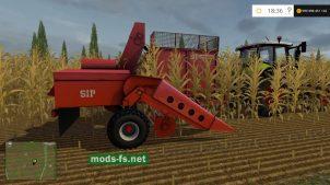 Мод комбайна для уборки кукурузы в Farming Simulator 2015
