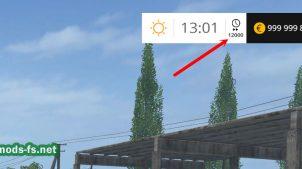 Мод скрипт для ускорения времени в Farming Simulator 2015