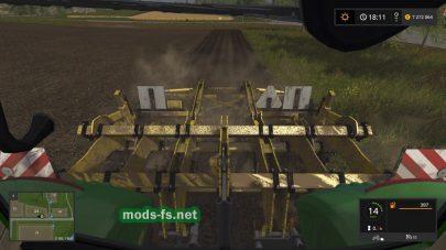 Культиватор Terraland Tn Senior для игры Farming Simulator 2017