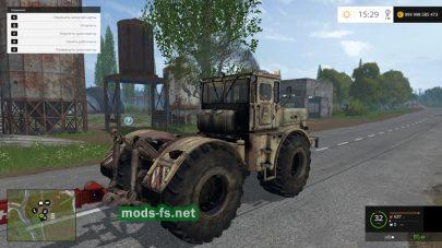 Мод старого Кировца для игры Farming Simulator 2015