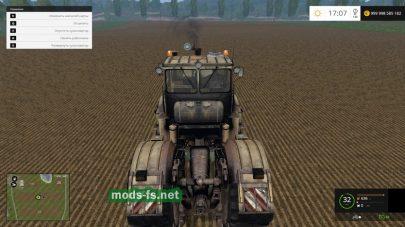 Мод старого и ржавого трактора К-701