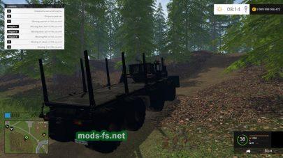 Трактор K-700 для игры Фермер Симулятор 2015
