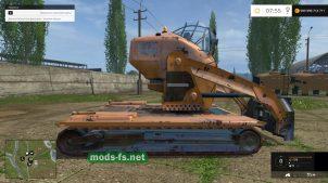 Гусеничный погрузчик для Farming Simulator 2015