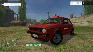 Мод Volkswagen Golf I GTI Feuerwehr
