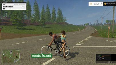 Мод велосипеда для Farming Simulator 2015
